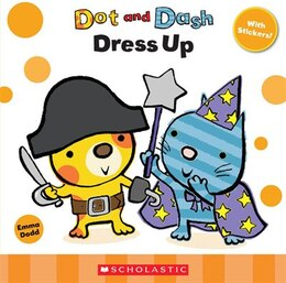 Book Dot and Dash: Dress Up Sticker Book by Emma Dodd