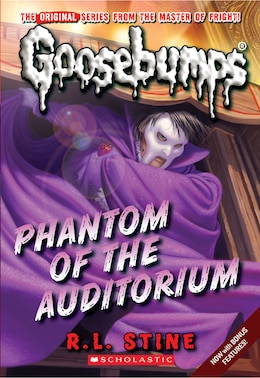 Book Goosebumps: Phantom of the Auditorium by R L Stine