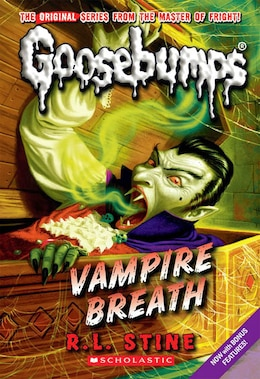 Book Goosebumps: Vampire Breath by R L Stine