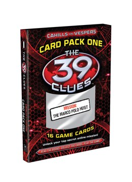 Book The 39 Clues: Cahills vs. Vespers: Card Pack 1: The Marco Polo Heist by Jude Scholastic Inc