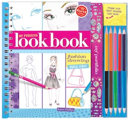 Book My Fabulous Look Book: Fashion Drawing Made Easy by Karen Phillips