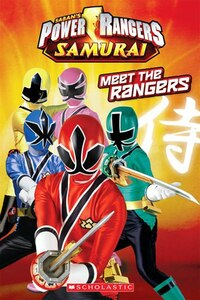 Power Rangers Samurai Reader: Meet the Rangers