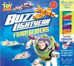 Book Disney Toy Story: Buzz Lightyear Foam Gliders by Klutz