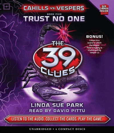 The 39 Clues: Cahills vs. Vespers Book Five: Trust No One (Audio) by Linda Sue Park