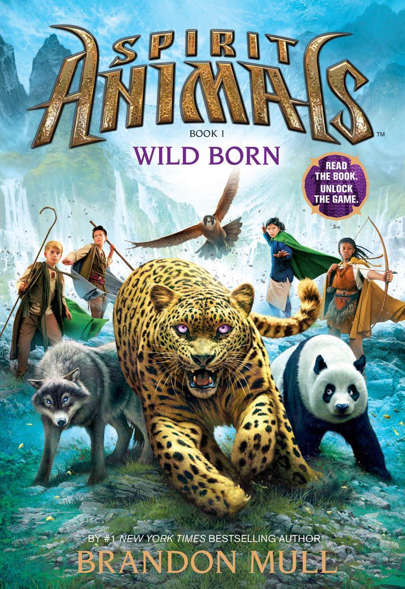 Book Spirit Animals Book One: Wild Born by Brandon Mull
