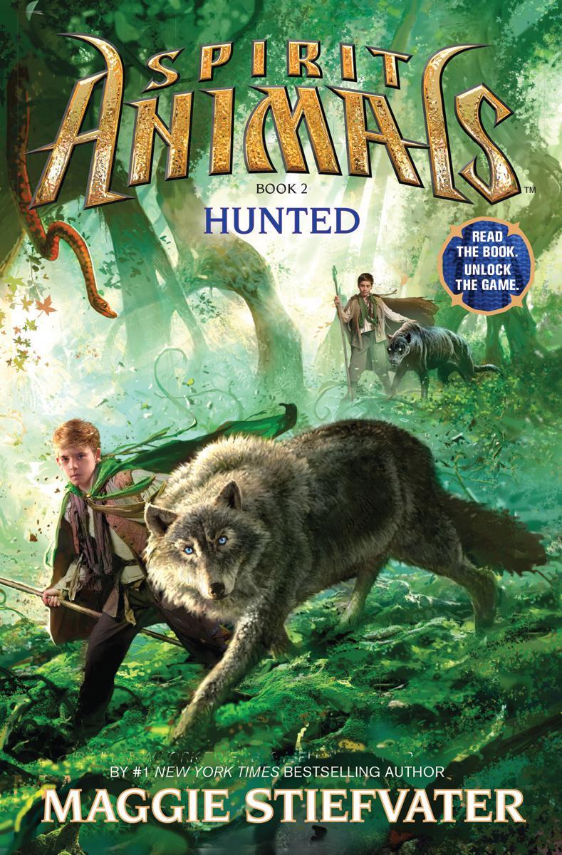 Book Spirit Animals Book Two: Hunted by Maggie Stiefvater