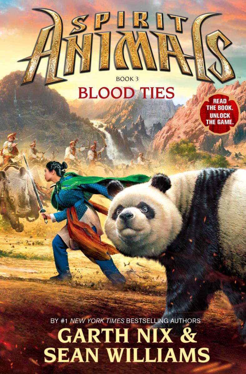 Book Spirit Animals Book Three: Blood Ties by Sean Williams