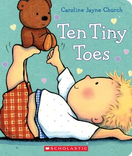 Book Ten Tiny Toes by Caroline Jayne Church