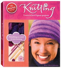 Book Knitting: Learn to Knit Six Great Projects by Anne Akers Johnson