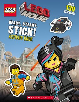 Book LEGO: The LEGO Movie: Ready, Steady, Stick! Activity Book by Scholastic Inc