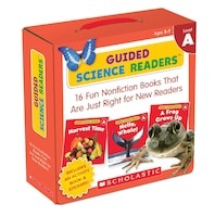 Guided Science Readers Parent Pack: Level A