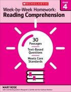 Week-by-Week Homework: Reading Comprehension Grade 4