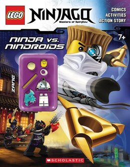 Book LEGO Ninjago: Ninja vs. Ninroid Activity Book (with minifigure) by * * Ameet Studio