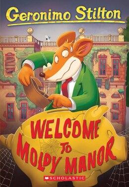 Book Geronimo Stilton #59: Welcome to Moldy Manor by Geronimo Stilton