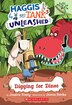 Haggis and Tank Unleashed #2: Digging for Dinos: A Branches Book by Jessica Young