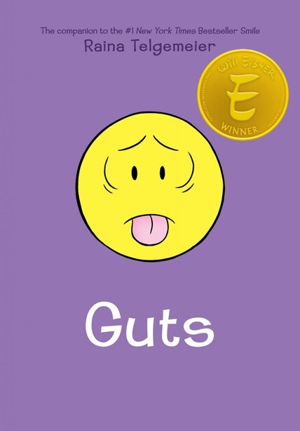 Guts (Library Edition) by Raina Telgemeier