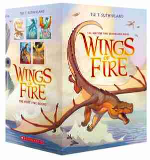 Wings of Fire Boxset, Books 1-5 by Tui T Sutherland