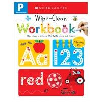 Scholastic Early Learners: Wipe Clean Workbooks: Pre-K
