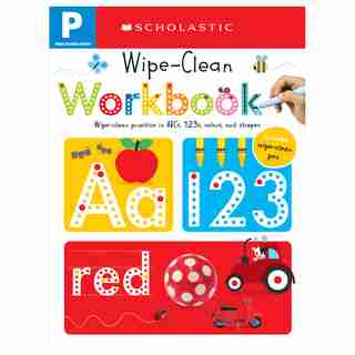 Pre-K Wipe-Clean Workbook: Scholastic Early Learners (Wipe-Clean) by Scholastic