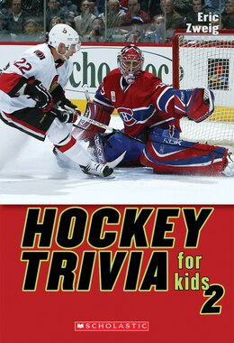 Book Hockey Trivia for Kids 2 by Eric Zweig