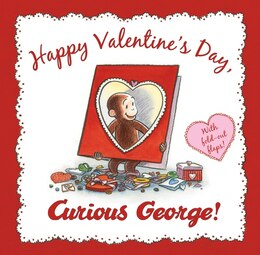 Book Happy Valentine's Day, Curious George by H. A. Rey