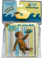 Curious Baby My Little Boat (Curious George Bath Book & Toy Boat)
