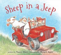 Sheep In A Jeep (board Book): Voices From The Panama Canal