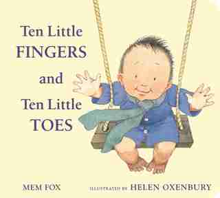 Ten Little Fingers And Ten Little Toes Padded Board Book de Mem Fox