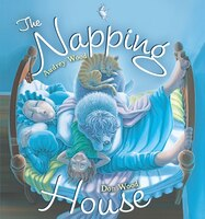 The Napping House padded board book: Illustrated By Don Wood