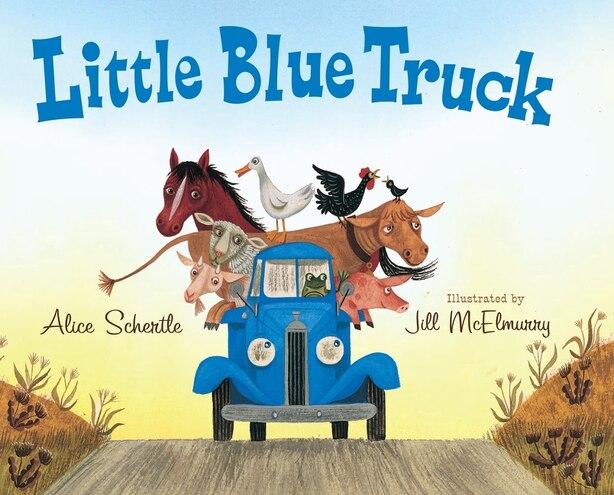 Little Blue Truck big book by Alice Schertle