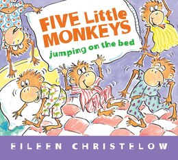 Book Five Little Monkeys Jumping On The Bed (padded Board Book) by Eileen Christelow