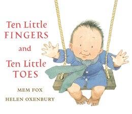Book Ten Little Fingers and Ten Little Toes lap board book: Lap Board Book by Mem Fox