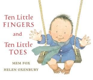 Ten Little Fingers and Ten Little Toes lap board book: Lap Board Book
