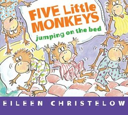 Book Five Little Monkeys Jumping on the Bed: Board book by Eileen Christelow