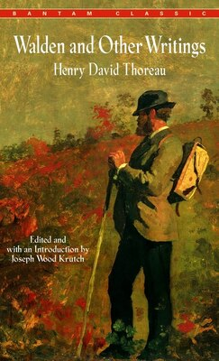 Book Walden And Other Writings by Henry David Thoreau