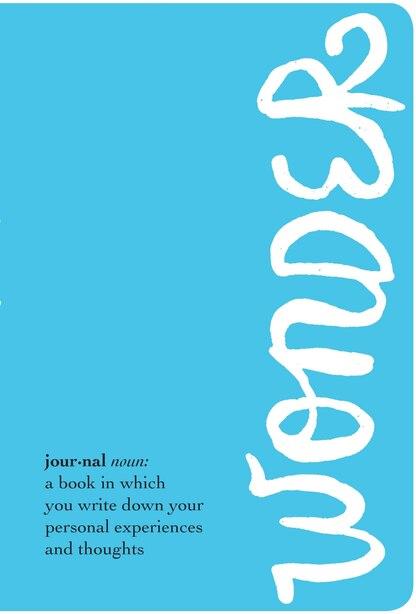 The Wonder Journal de R. J. Palacio