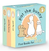 Pat The Bunny: First Books For Baby (pat The Bunny): Pat The Bunny; Pat The Puppy; Pat The Cat