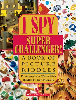 Book I Spy Super Challenger by Jean Marzollo