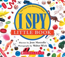 Book I Spy Little Book by Jean Marzollo