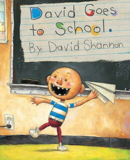 Book David Goes to School by David Shannon