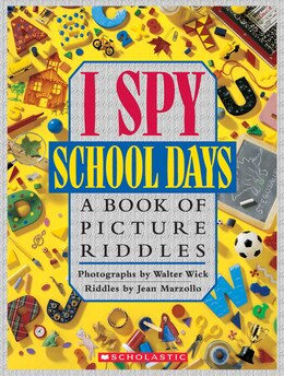 Book I Spy School Days by Jean Marzollo