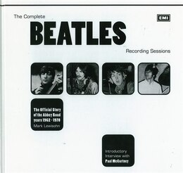 Book Complete Beatles Recording Sessions by Mark Lewisohn And Pa