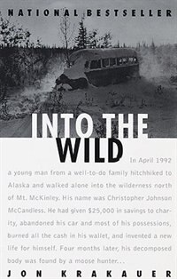 Book Into The Wild by Jon Krakauer