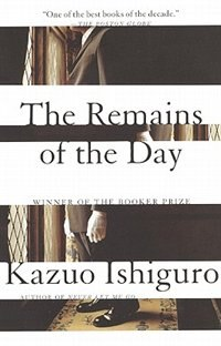Book The Remains Of The Day by Kazuo Ishiguro