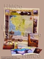 The Maps Of Tolkien's Middle-earth With Map