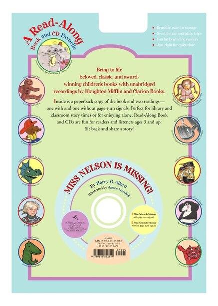 Miss Nelson is Missing! Book & CD by Harry G. Allard