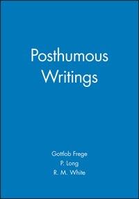 Posthumous Writings