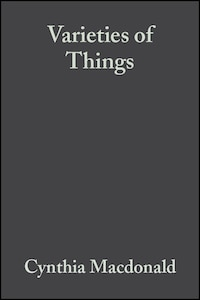 Varieties of Things: Foundations of Contemporary Metaphysics