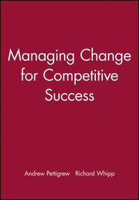 Managing Change for Competitive Success