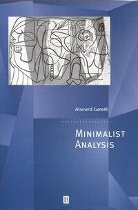 Minimalist Analysis